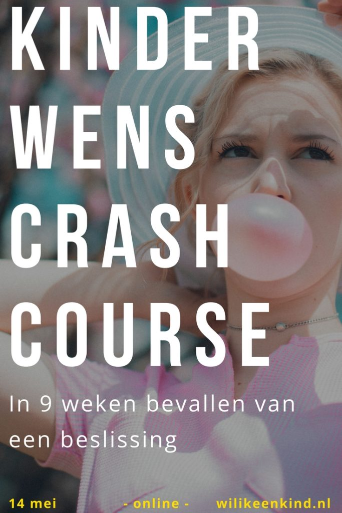 beslissen, kinderwens, crash course,